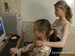 juvenile lezzy beauties experiments with an