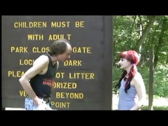 redneck thrashing in the park