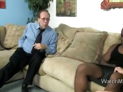 marvelous blond little daughter swallows a large