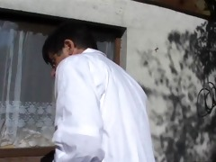 horny doctor fucks a juvenile breasty playgirl