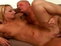 fortunate grandad enjoying sexy sex with legal